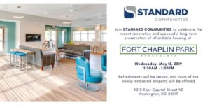 Fort Chaplin Park Renovation Completion Celebration and Ribbon Cutting @ Fort Chaplin Park Apartments